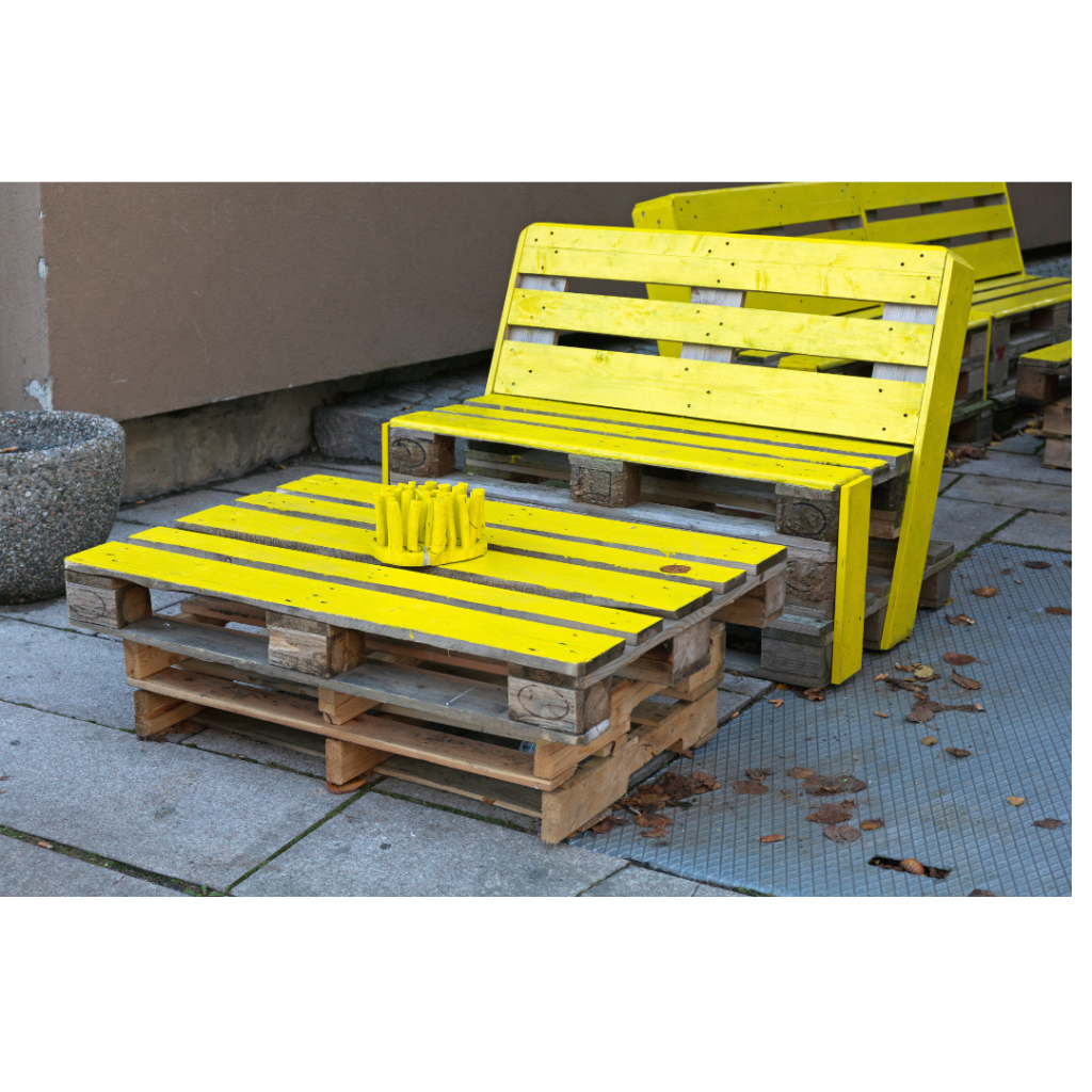 kayu palet coffee table