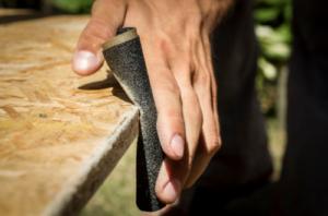 finishing kayu